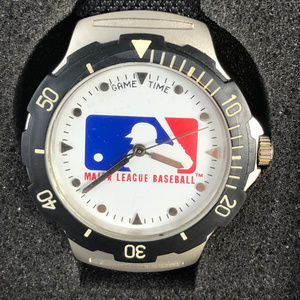 Vintage Major League Baseball Watch by Game Time